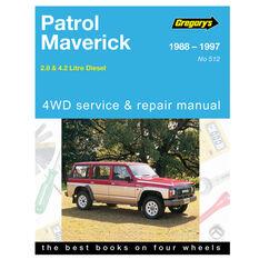 Car Manual For Nissan Patrol / Ford Maverick 1988-1997 - 512, , scanz_hi-res