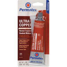Permatex RTV Silicone Gasket Maker, Maximum Temperature - Ultra Copper, 85g, , scanz_hi-res