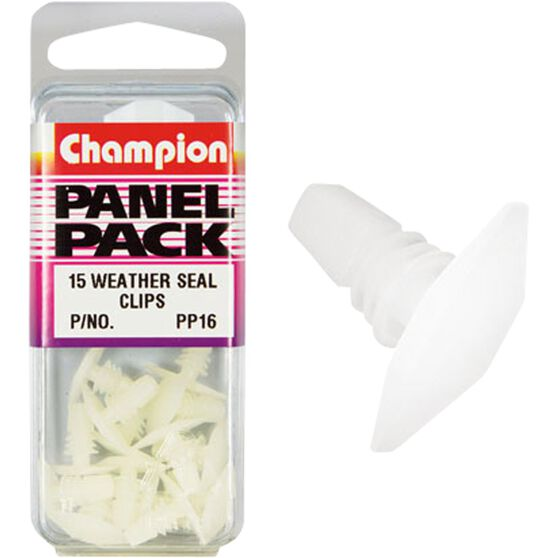 Champion Weather Seal Clips - PP16inch, Panel Pack, , scanz_hi-res