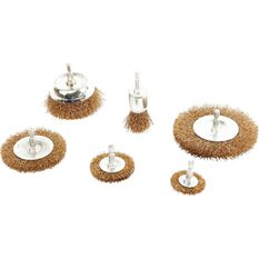 ToolPro Wire Wheel Kit - 6 Piece, , scanz_hi-res