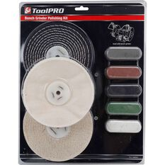 ToolPRO Bench Grinder Polishing Kit 8 Piece, , scanz_hi-res