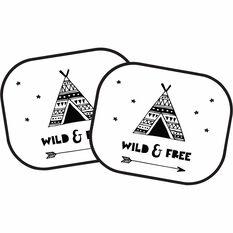 Wild & Free Window Shade - 2 Pack, , scanz_hi-res