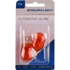 Wedge Bulb - Amber, 12V, 21/5W, T-20MM, , scanz_hi-res