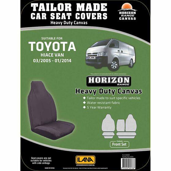 Ilana Horizon Tailor Made Pack for Toyota HiAce LWB Van 03/05 - 01/14, , scanz_hi-res