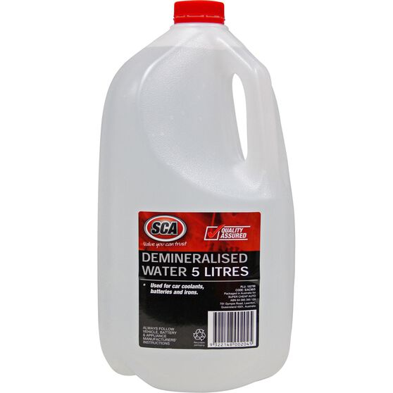 SCA Demineralised Water 5 Litre, , scanz_hi-res