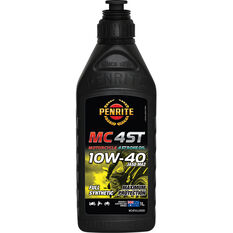 Penrite MC-4ST Full Synthetic Motorcycle Oil 10W-40 1 Litre, , scanz_hi-res