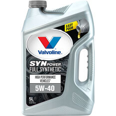 Valvoline Synpower Engine Oil - 5W-40 5 Litre, , scanz_hi-res