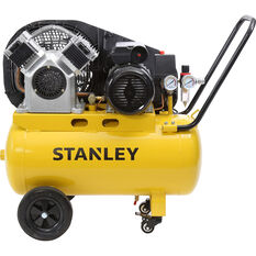 Stanley Air Compressor 2.5HP Belt Driven 50 Litre tank, , scanz_hi-res