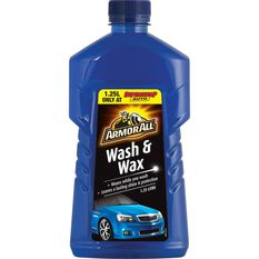 Wash & Wax - 1.25 Litre, , scanz_hi-res