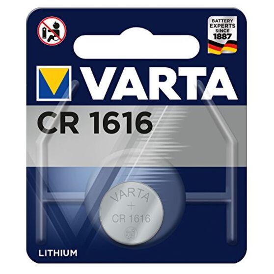 Varta Lithium Coin Battery - CR1616, 1 Pack, , scanz_hi-res