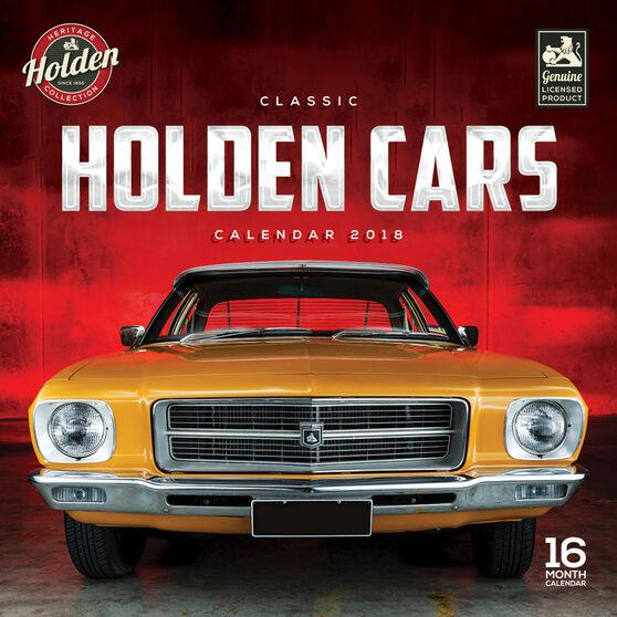 Classic Holden Mini 2018 Calendar, , scanz_hi-res