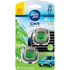 Ambi Pur Mini Air Freshener - NZ Springs, 2 Pack, , scanz_hi-res