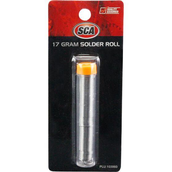 SCA Solder Roll - 17g, , scanz_hi-res