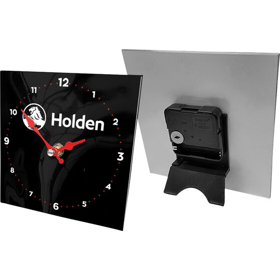 Holden -Desk clock, glass, , scanz_hi-res