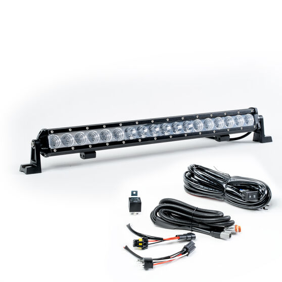 """Enduralight Driving Light Bar LED  20"""" Single Row - 54W, with harness, , scanz_hi-res"""