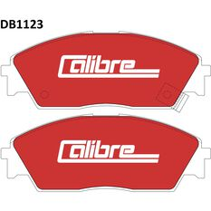 Calibre Disc Brake Pads - DB1123CAL, , scanz_hi-res