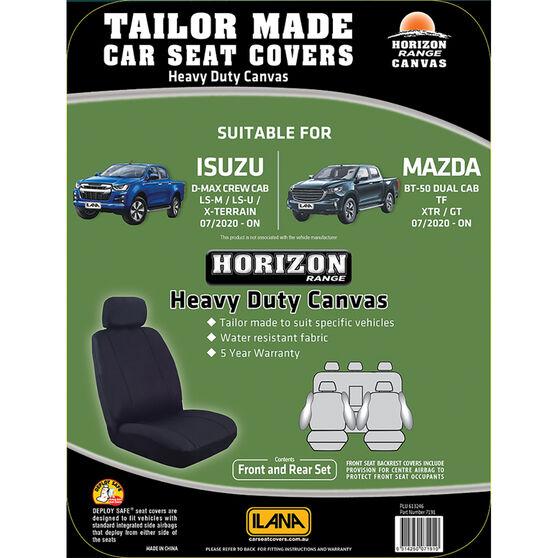 Ilana Horizon Tailor Made Pack For Mazda BT-50 Dual Cab 2020 Onwards=, , scanz_hi-res