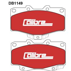 Calibre Disc Brake Pads - DB1149CAL, , scanz_hi-res