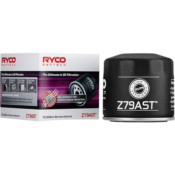 Ryco Syntec Oil Filter Z79AST (Interchangeable with Z79A), , scanz_hi-res