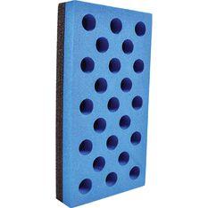 Bodyworx Hard & Soft Sanding Block - 70 x 135mm, , scanz_hi-res