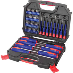 WORKPRO Screwdriver & Bit Set - 55 Piece, , scanz_hi-res