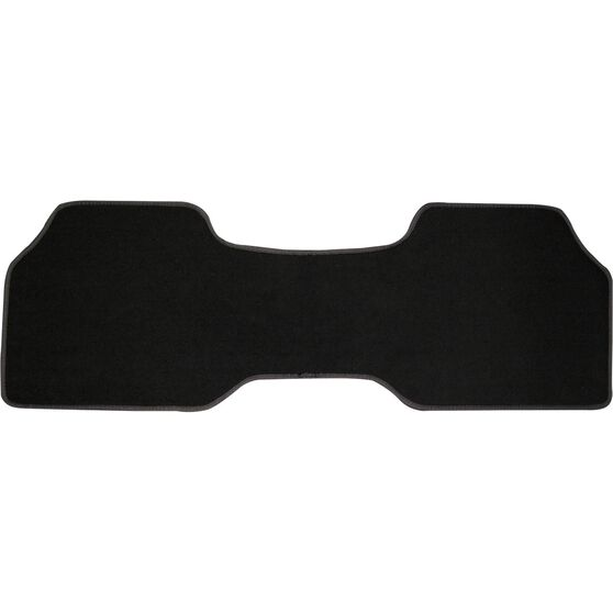 SCA Car Floor Mat - Carpet, Black, Single Rear, , scanz_hi-res