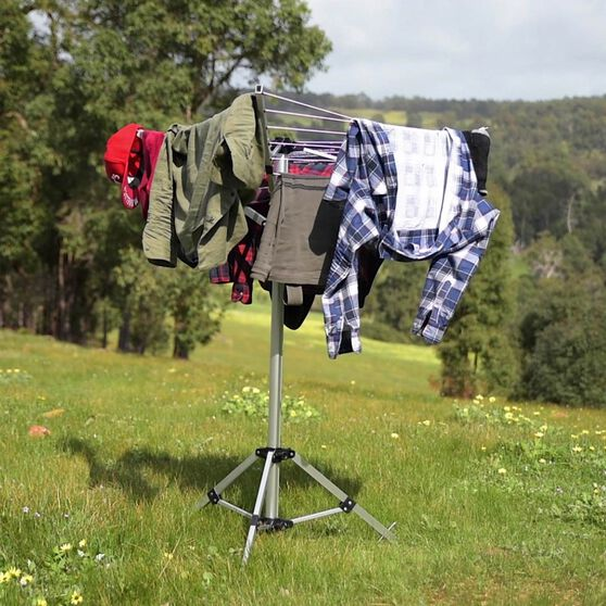 Ridge Ryder Collapsible Clothes Line, , scanz_hi-res