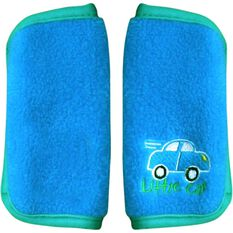 Little Car Seat Belt Buddies - Blue, Pair, , scanz_hi-res