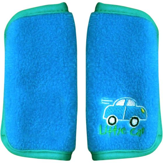 Little Car Seat Belt Buddies - Blue, Pair, , scanz_hi-res