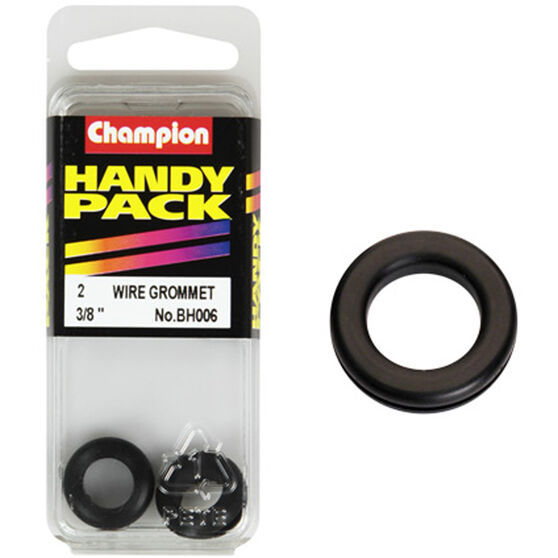 Champion Wiring Grommet - 3 / 8inch, BH006, Handy Pack, , scanz_hi-res