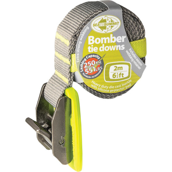Sea to Summit Bomber Tie Down Lime 2m, , scanz_hi-res