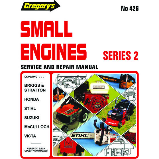 Gregory's Service and Repair Manual Small Engines - 426, , scanz_hi-res