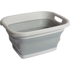 Ridge Ryder Collapsible Storage Tub - 17 Litre, , scanz_hi-res