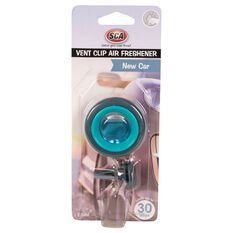 SCA Air Freshener, Vent Clip - New Car, , scanz_hi-res