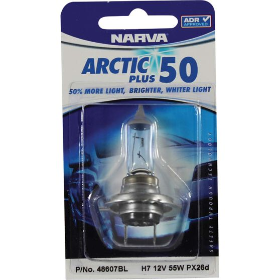 Narva Headlight Globe - Arctic Plus 52, H7, 12V,  55W, , scanz_hi-res
