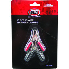 SCA Battery Clamps - 2 Pack, 15 AMP, , scanz_hi-res