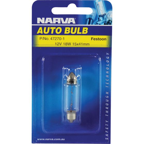 Narva Bulb - 12V, 18W, 15x41mm, , scanz_hi-res