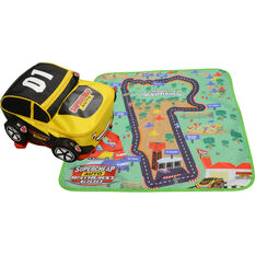 SCA Race Car Backpack with play mat, , scanz_hi-res