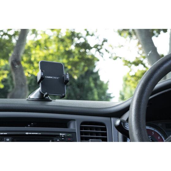 Cabin Crew Phone Holder - Suction Mount, Expander, Black, , scanz_hi-res