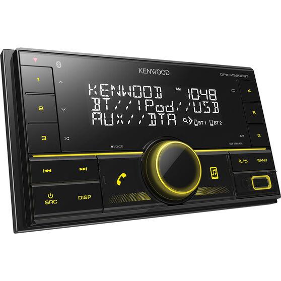 Kenwood DPX-M3200BT Double DIN Head Unit, , scanz_hi-res