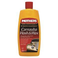 Mothers Carnauba Wash and Wax - 473mL, , scanz_hi-res