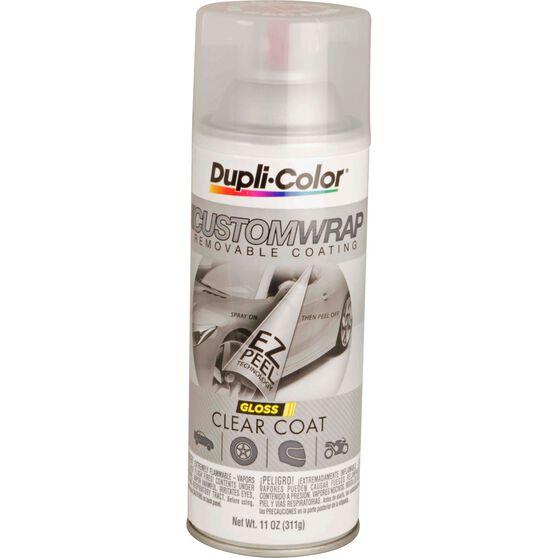 Dupli-Color Aerosol Paint Custom Wrap Gloss Clearcoat 311g, , scanz_hi-res