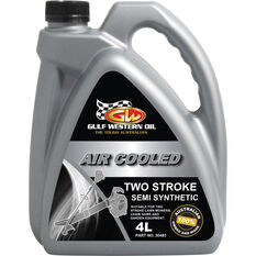 Gulf Western Air Cooled Two Stroke Oil - 4 Litre, , scanz_hi-res