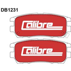 Calibre Disc Brake Pads DB1231CAL, , scanz_hi-res