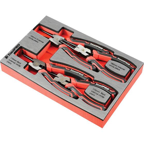 ToolPRO EVA Circlip Plier Set 4 Piece, , scanz_hi-res