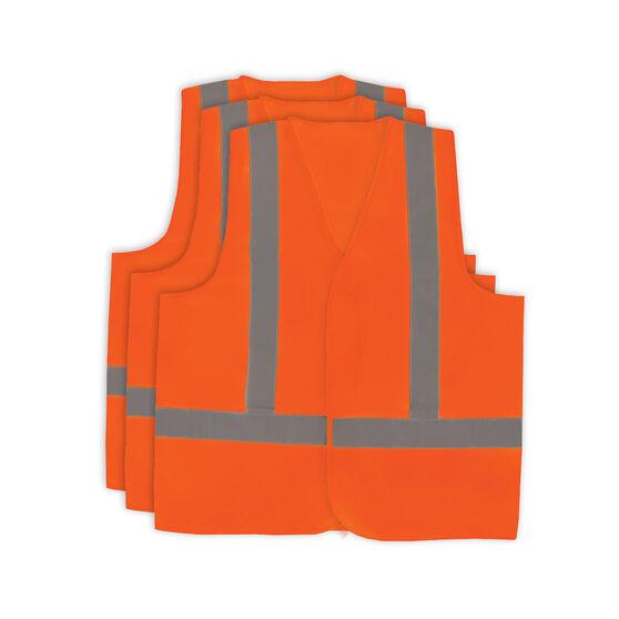 Hi Vis Vest - Orange 3 Pack M, , scanz_hi-res