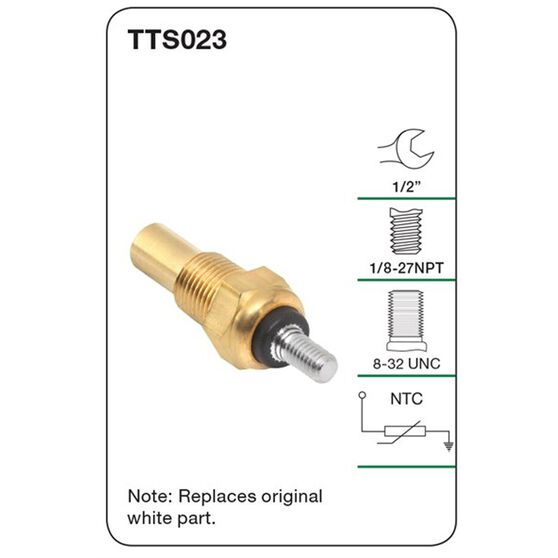 Tridon Water Temperature Sender - TTS023, , scanz_hi-res