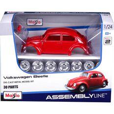 Die Cast, Assembly model; Volkwagen Beetle - 1:24 scale model, , scanz_hi-res