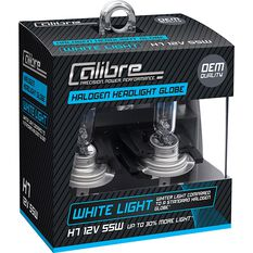Calibre Headlight Globes H7 12V 55W White Light, , scanz_hi-res