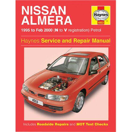 Haynes Car Manual For Nissan Almera 1995-2000 - 4053, , scanz_hi-res